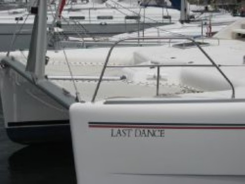 Preowned Sail Catamarans for Sale 2006 Leopard 43  Deck & Equipment